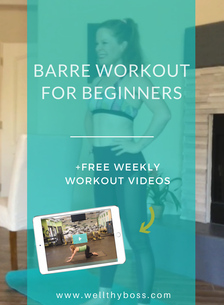 Barre Workout for Beginners-15 Minute At-Home Workout With